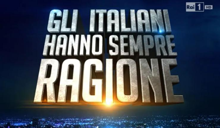 Gli italiani hanno sempre ragione